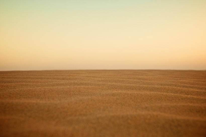 untouched sand